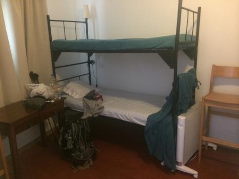 Dorm room at Solo Duro, Golega