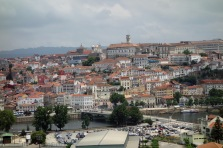 View of Coimbra from Convento Santa Clara
