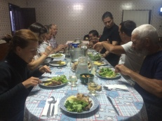 Hands down the best dinner of my camino!
