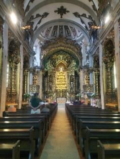 Inside Igreja do Carmo, Porto