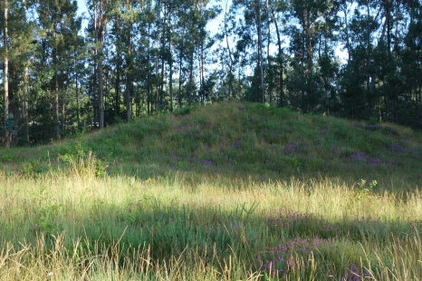 Megalithic burial mound