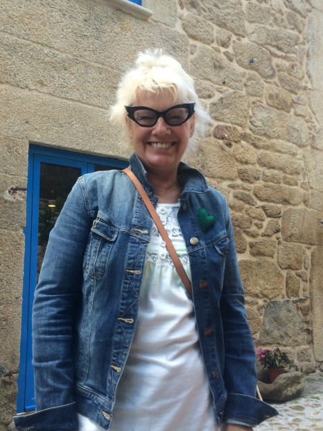 I met this wonderful lady Lesley who has started an albergue called Quinta Estrada Romano, before Valenca