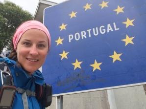 One minute I'm in Portugal
