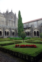 The cloister in Tui Cathedral