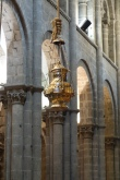The botafumeiro in Santiago Cathedral