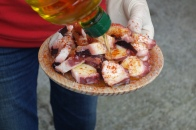 Pulpo, the specialty of Melide