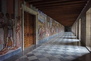 Inside Samos Monastery