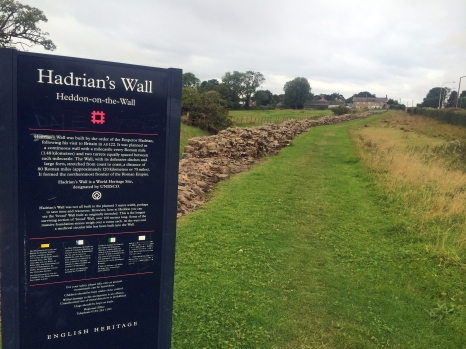 The wall in Heddon-on-the-wall