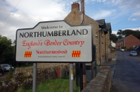 From Northumberland...