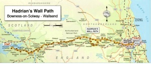 Image from Trailblazer, Hadrian's Wall Path guidebook