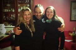 With Katharina from Germany and the amazing Eduardo who runs the albergue En El Camino in Boadilla del Camino