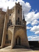 Palacio Episcopal, a Gaudi building,, Astorga