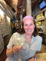 Cheers! When in Galicia, you must try this gin called Nordes, from Galicia!