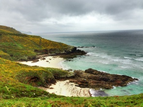 A lovely path from Finisterre to Muxia