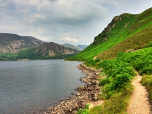 Scenic views around Ennerdale Water