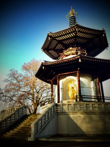 Buddhist Peace Pagoda, Battersea Park