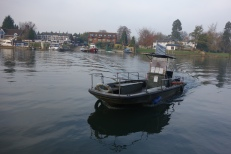 The ferry that takes you across to Shepperton