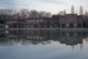 Oxford boathouses