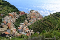There it is! Manarola