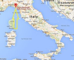 Italy map from Google Maps