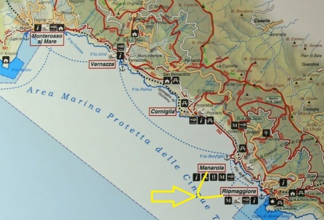 Manarola to Riomaggiore