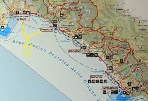 Monterosso al Mare to Vernazza