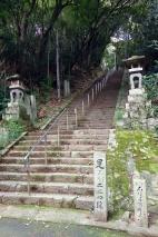 Steps up to Temple 10, Kirihataji