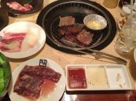 Yakiniku dinner in Tokushima