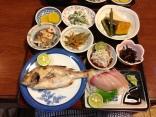 Dinner at Sazanka, next to Temple 22