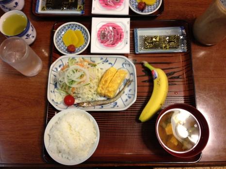 Breakfast at Sazanka