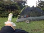 Ebisuhama campsite, 300yen