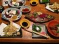 Dinner at Hozumitei restaurant in Uwajima