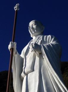 Seinen Daishi-zo (Young Daishi statue), on the way to Temple 24