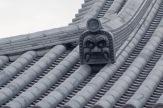 Roof tiles at Temple 28, Dainichiji