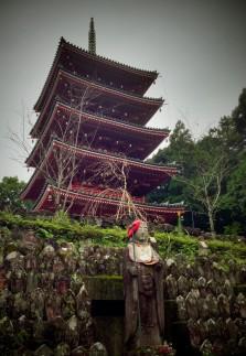 A pagoda at Temple 31, Chikurinji
