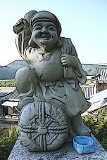 Daikoku, the God of the farmers