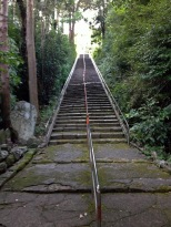 Stairs up to Temple 35, Kiyotakiji