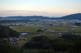 The view from Temple 35, Kiyotakiji