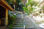 Going up to Temple 36, Shoryuji