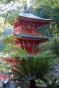 A pagoda at Temple 36, Shoryuji