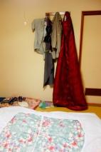 Drying my sleeping bag
