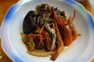 Sukiyaki for dinner in Sukumo city