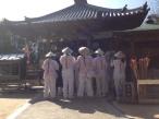Pilgrims chanting at Temple 54, Enmeiji