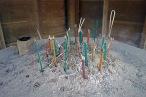Incense sticks at Temple 54, Enmeiji