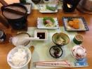 Dinner at Temple 75, Zentsuji