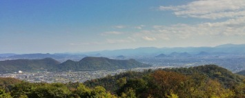 The view over to Takamatsu