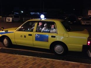 Taxi to Tokushima port