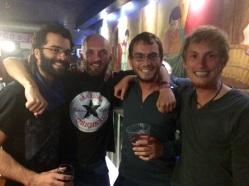 Jerome, Sebastian, Dimitry and Sylvan