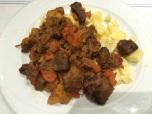 Beef stew, Meson Manger, Lugo