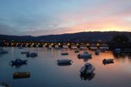 Sunrise in Pontedeume